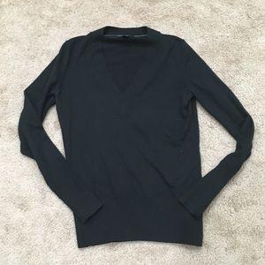 Banana Republic silk cashmere blend vneck sweater